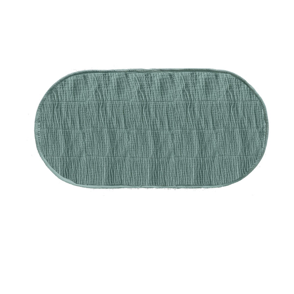 Luxe Changing Basket Cotton Insert - Sage