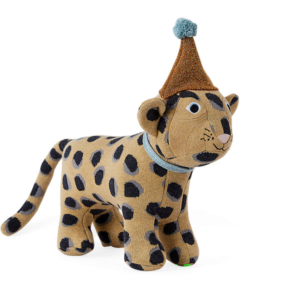 Baby Elvis Leopard Toy