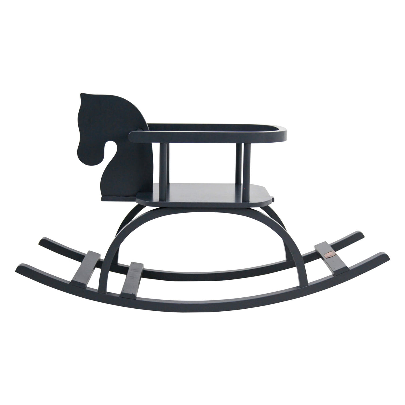 Traditional Rocking Horse - Black