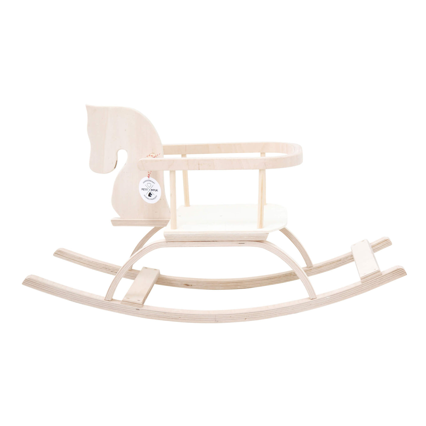 Traditional Rocking Horse - Natural