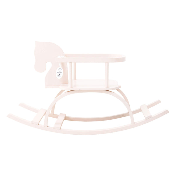 Traditional Rocking Horse - Powder Pink