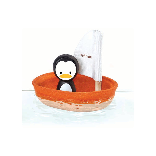 Penguin Sailing Boat Bath Toy