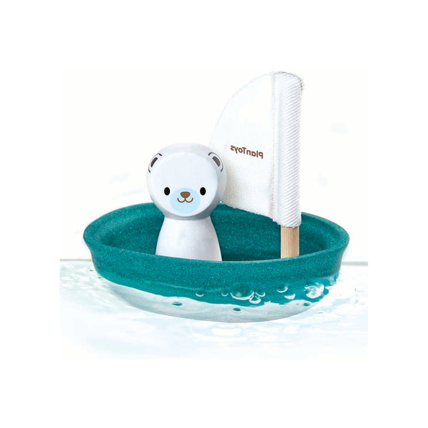 Polar Bear Sailing Boat Bath Toy