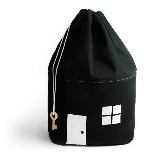 House Storage Bag - Black - Large