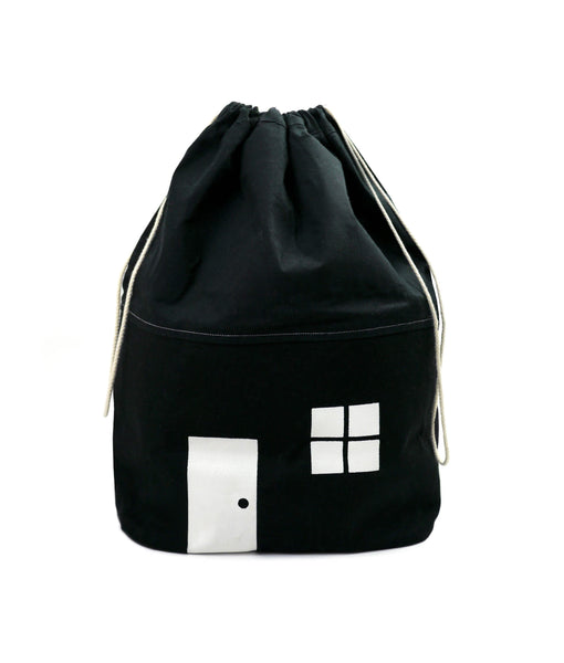House Storage Bag - Black - Medium
