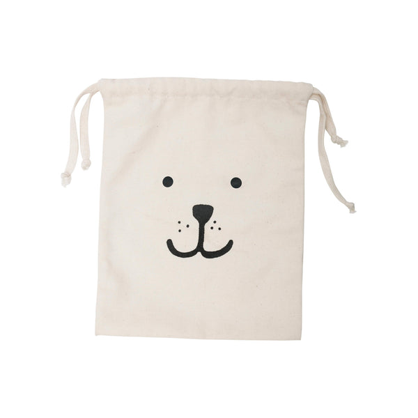 Small Bear Fabric Toy Storage Bag