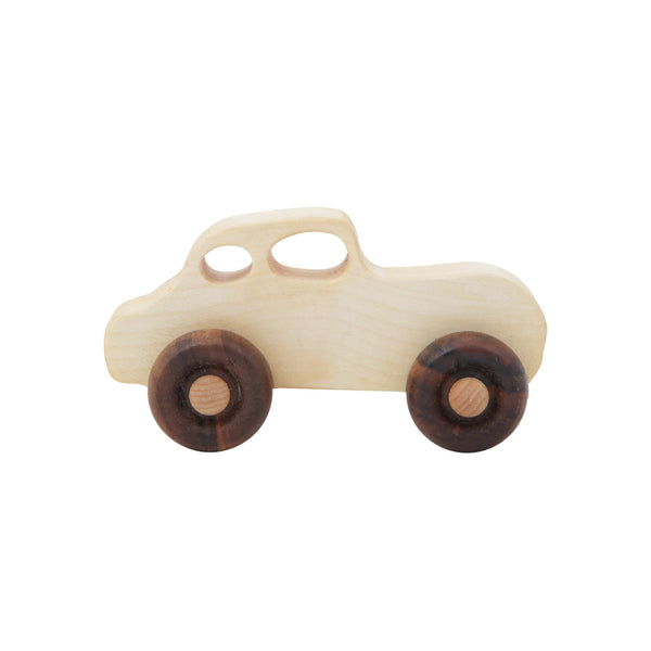 Retro Wooden Car