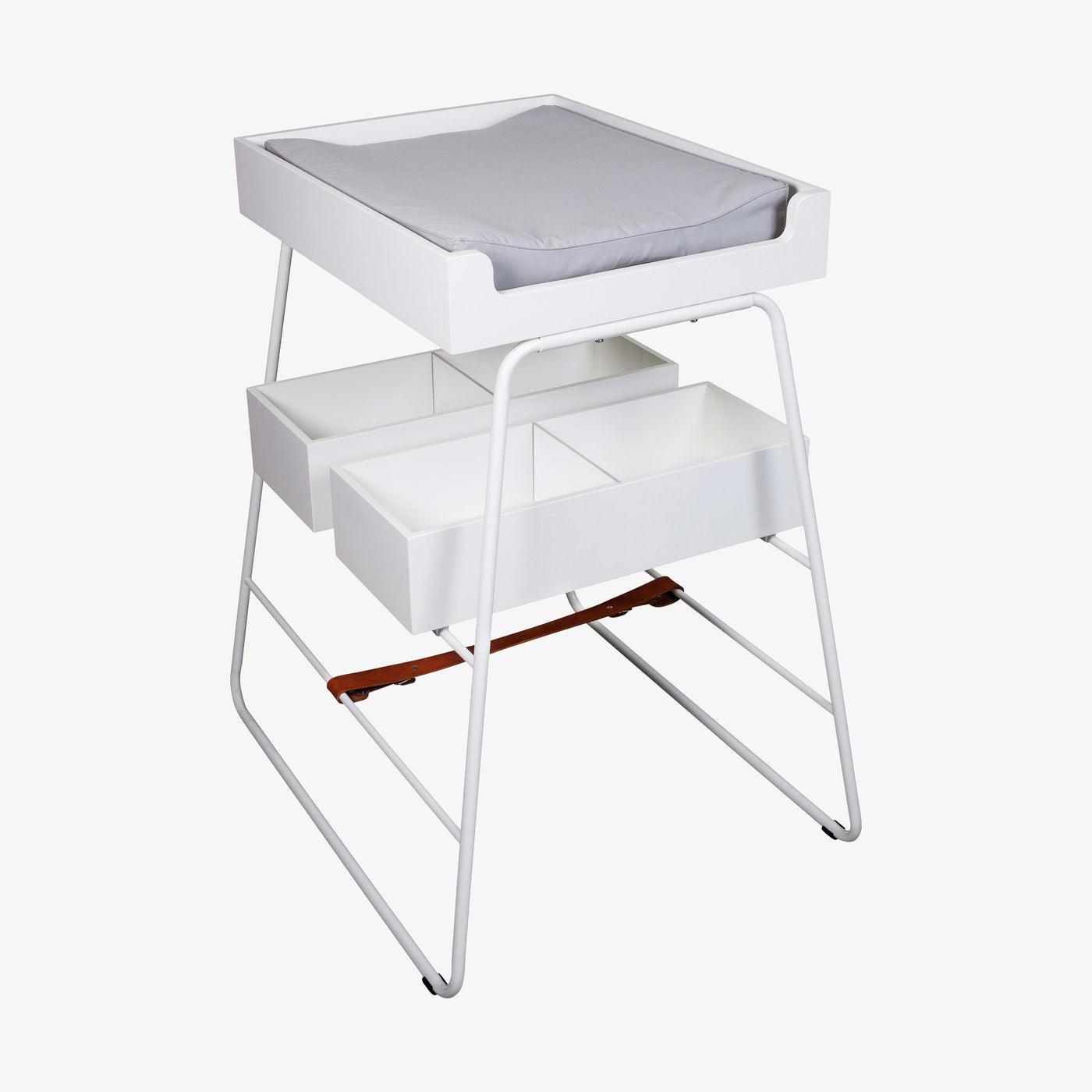 changingTOWER Changing Table - White
