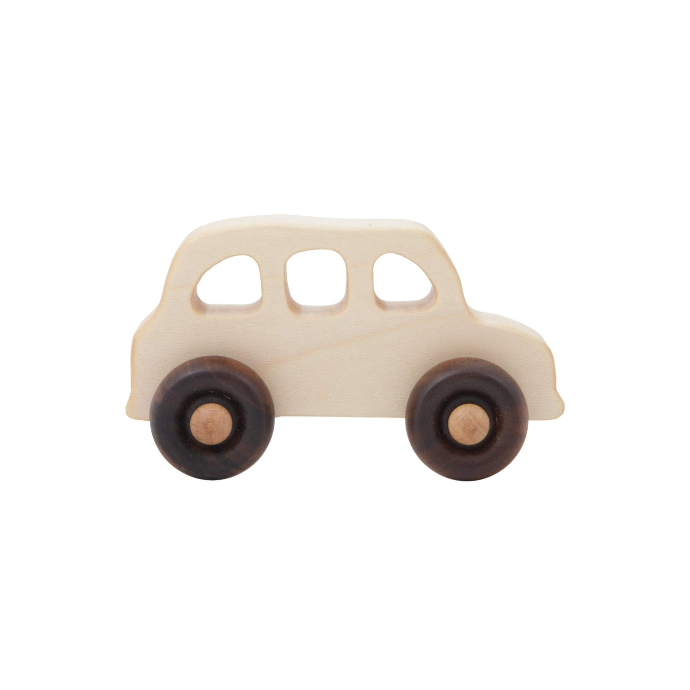 English Taxi Wooden Car