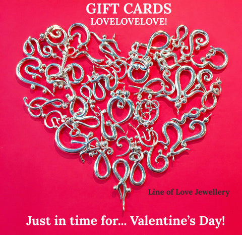 Line of Love Jewellery Gift Cards now available!