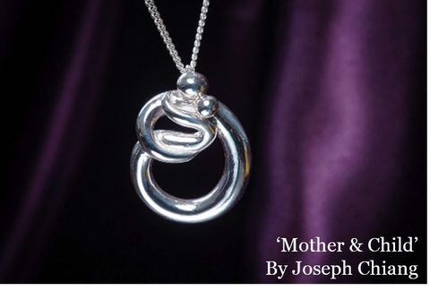 Mother & Child together, 121A by Joseph Chiang