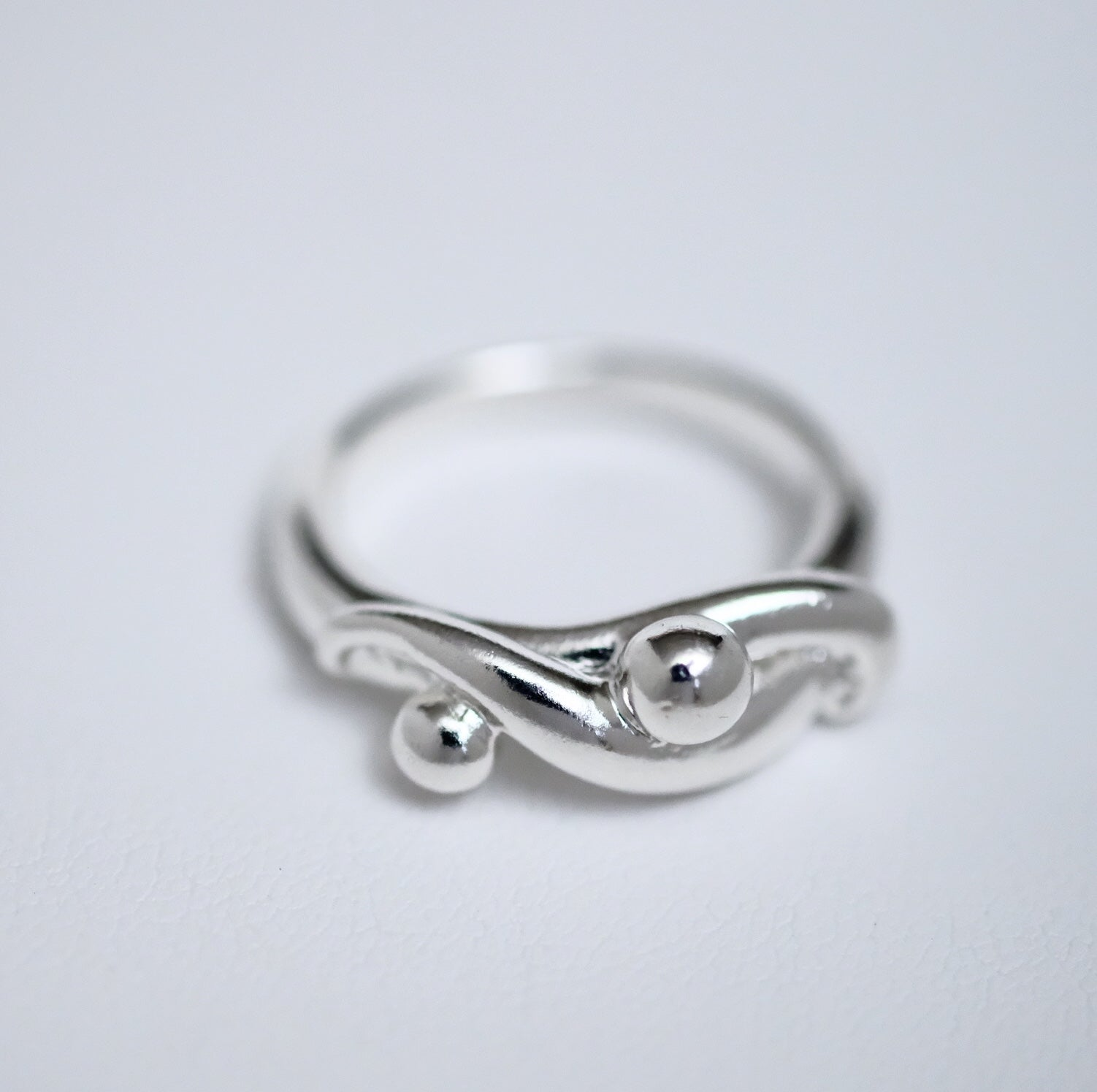 Carrying the Dream sterling silver ring by Joseph Chiang