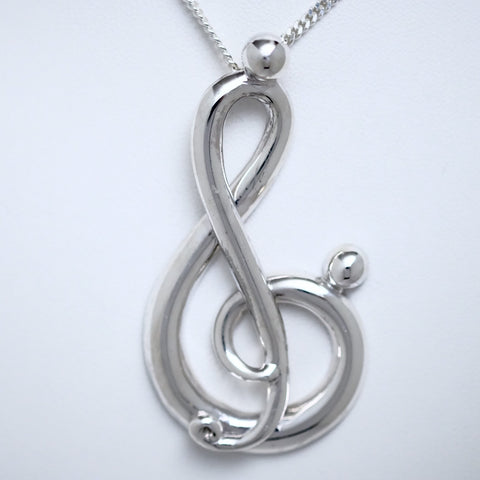 Melody of Love (extra large pendant, half-side) #117D