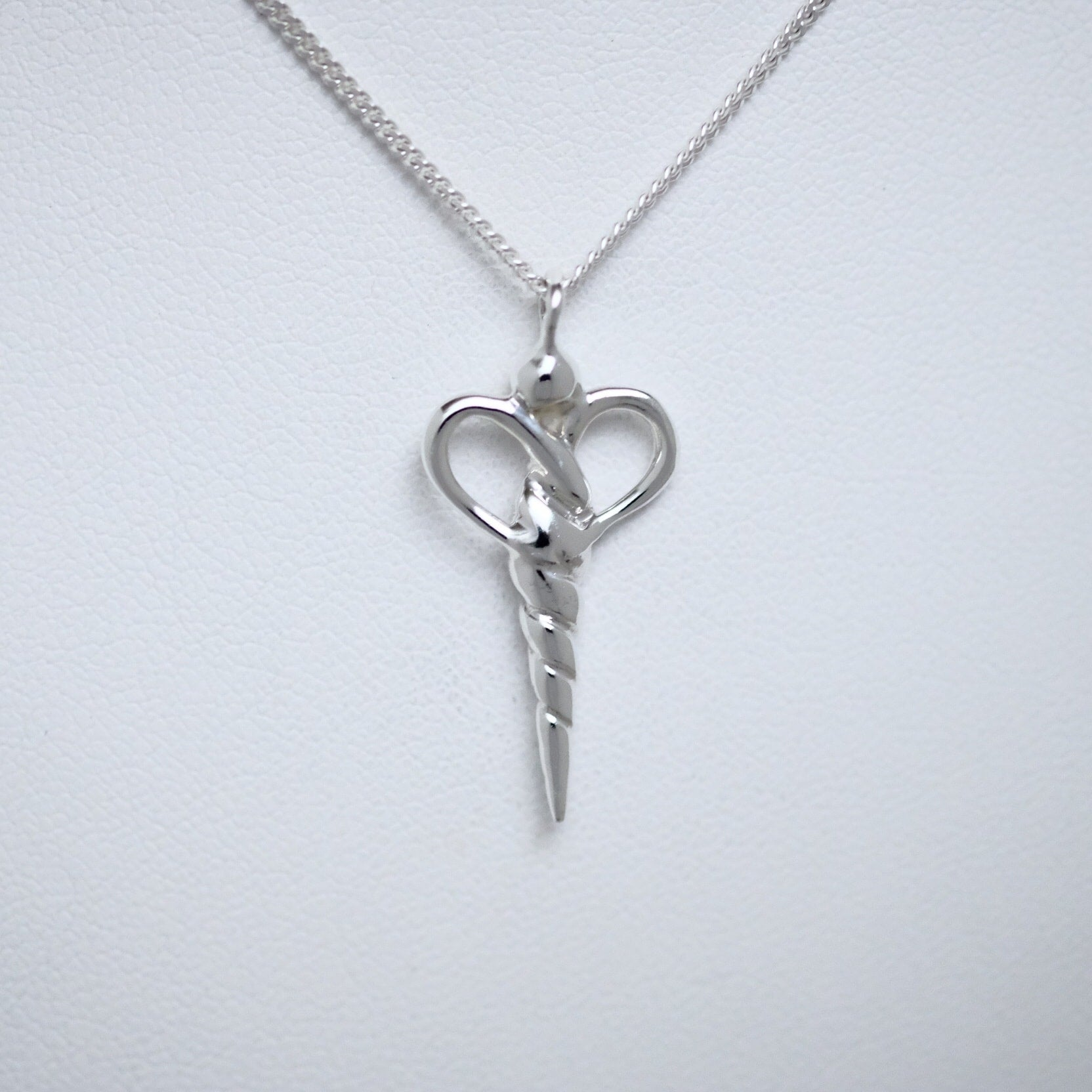 Nurse pendant Line of Love Jewellery by Joseph Chiang