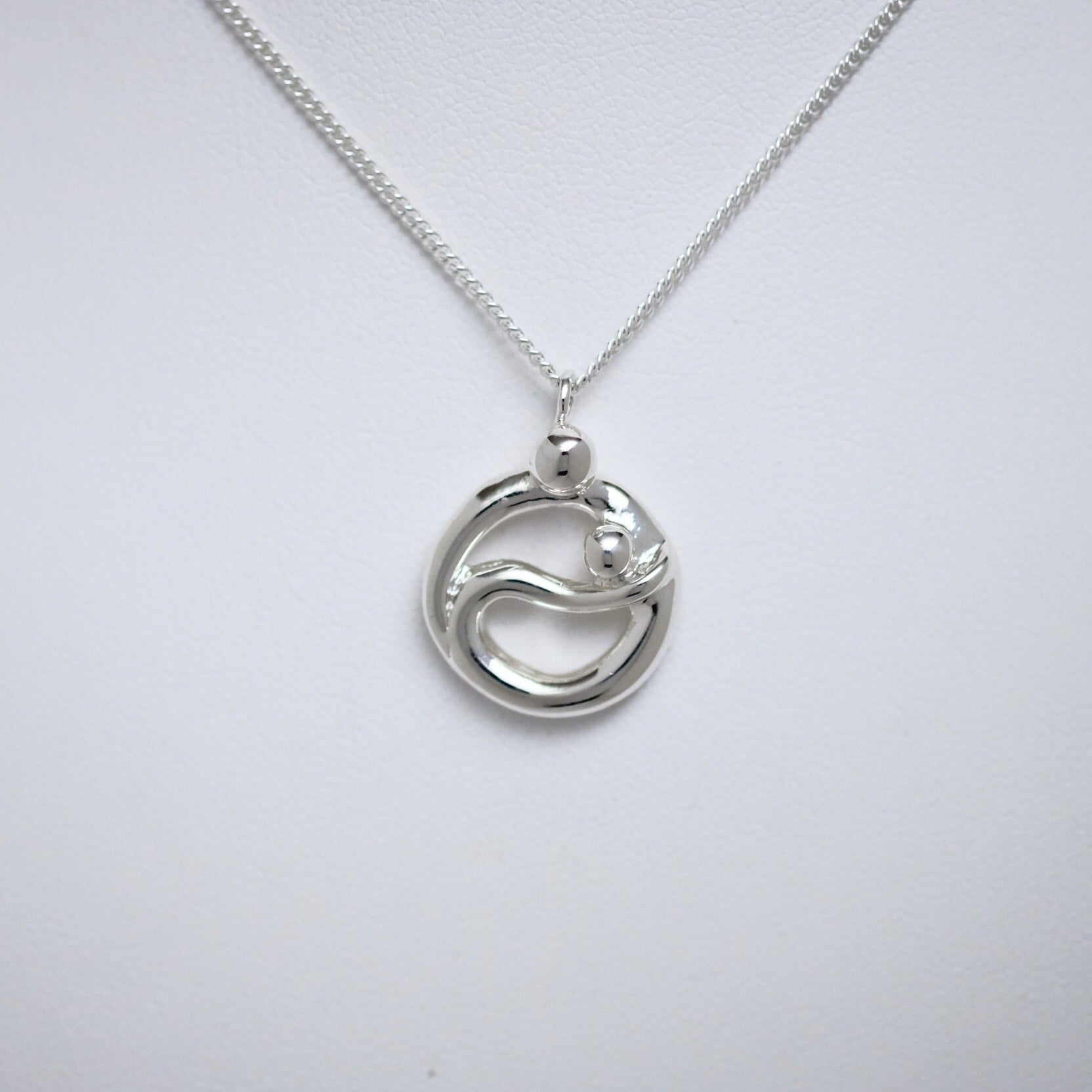 Nurturing small pendant Line of Love Jewellery by Joseph Chiang