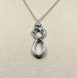 Infinity Love (small pendant) #118A