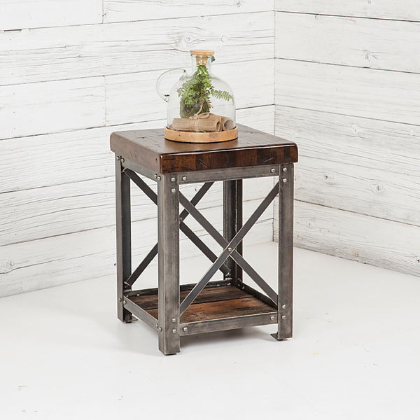 Signature Dark Walnut End Table