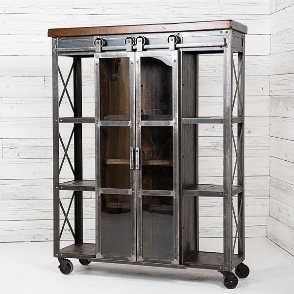 Signature Industrial Display Cabinet