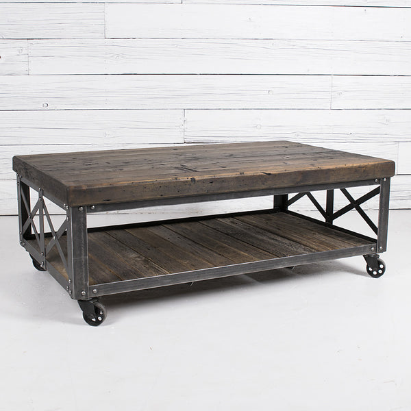 International harvester co coffee table urban farmhouse for International harvester room decor