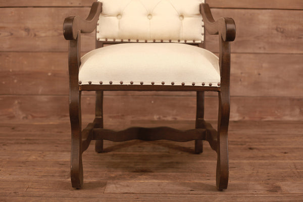 Murphy Deconstructed Tufted Arm Chair