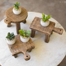 Set of Three | Cutting Board Risers
