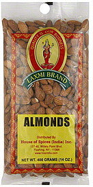 Laxmi Almonds Whole - BazaarPrime