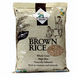 Brown Sona Masoori Rice - Organic 10Lbs