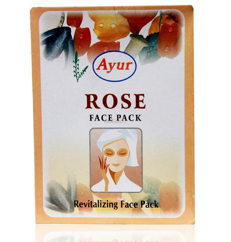 Ayur Rose Face Pack