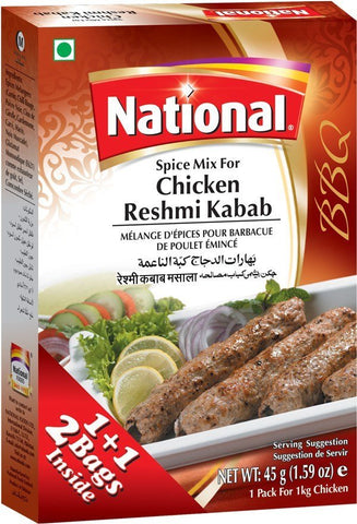 National Chicken Reshmi Kabab