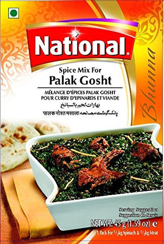 National Palak Gosht
