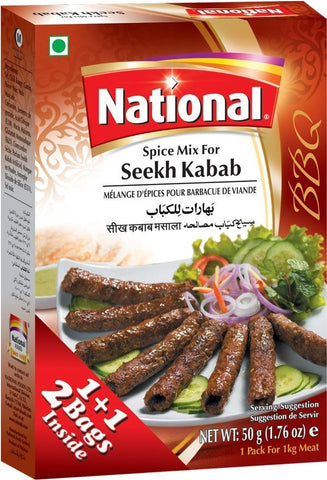 National Seekh Kabab
