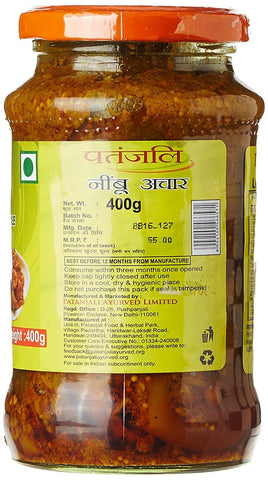 Patanjali Lemon Pickle