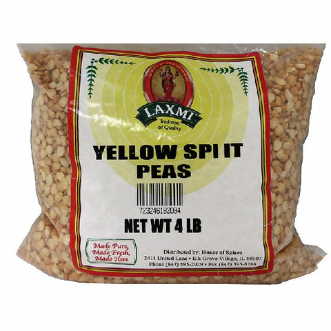 Yellow Split Peas 4Lbs