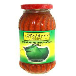 Gujarati Methia Mango Pickle 500gm