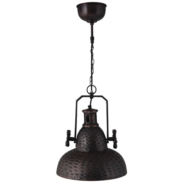 Black Industrial Style Kitchen Light