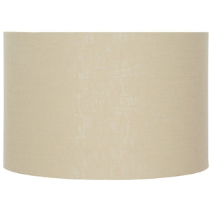 "cream 18"" drum shade"