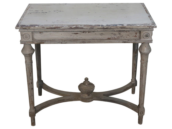 Decorated Antiqued Table