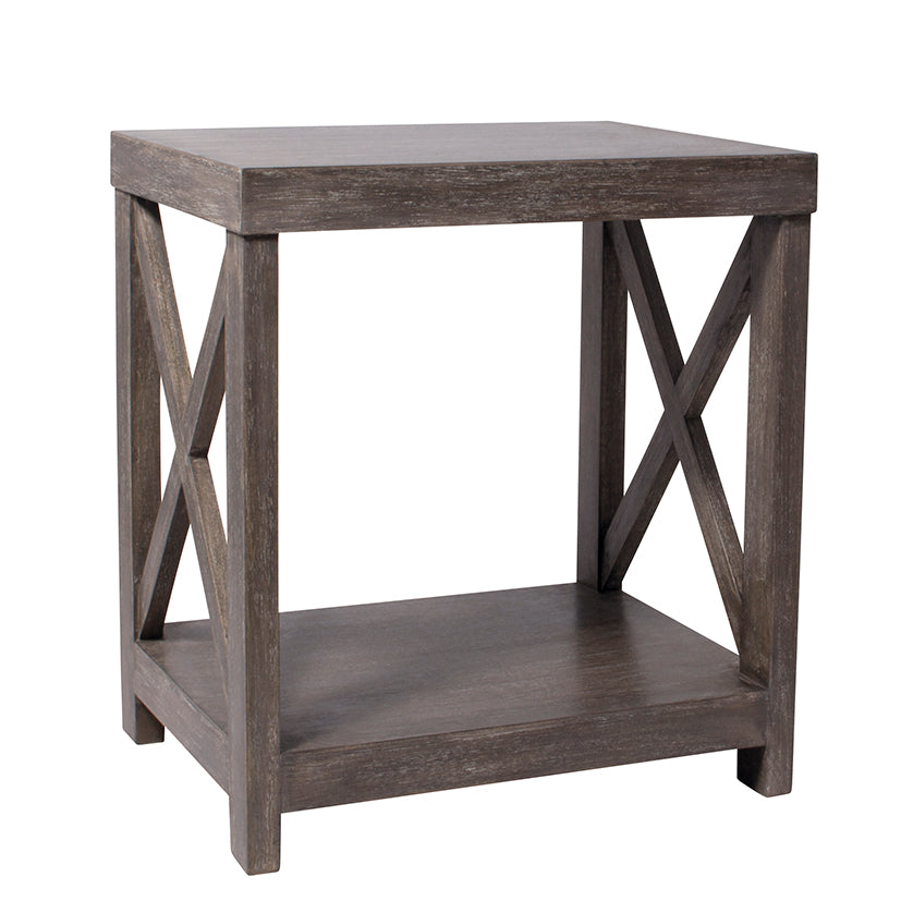 Cross Frame Lamp Table – Decor-us