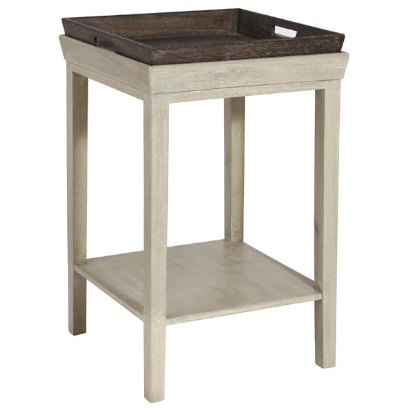 Side Table With Tray