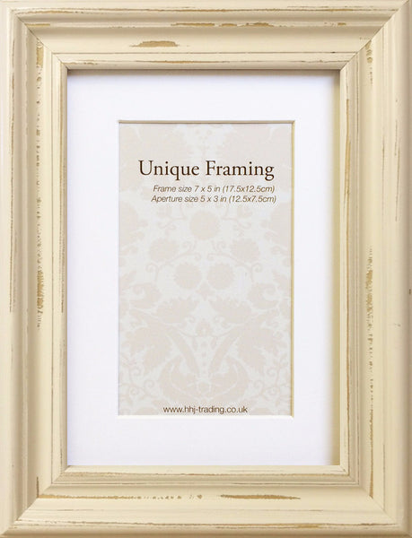 Shabby Chic Cream Frame