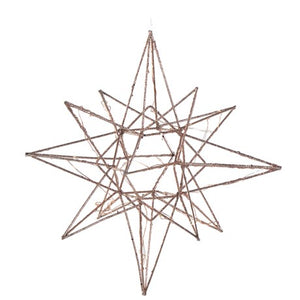 copper lit star