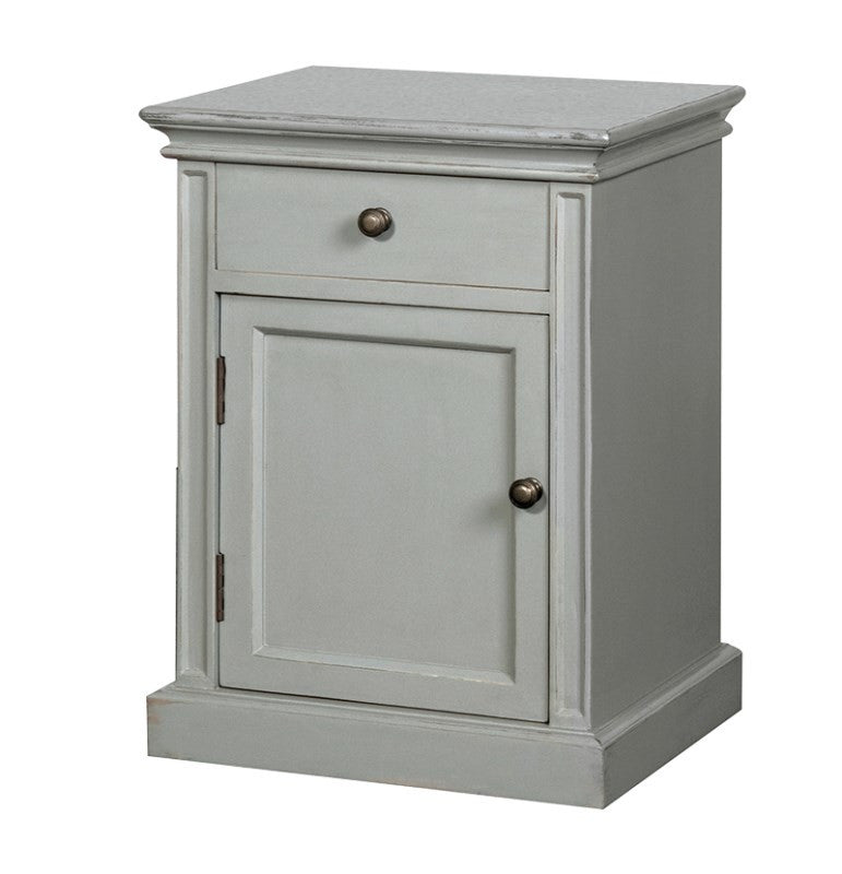 Painted Cupboard With Drawer.