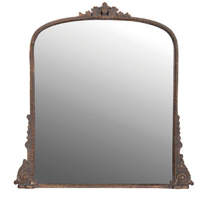 Antique Style Over Mantle Mirror