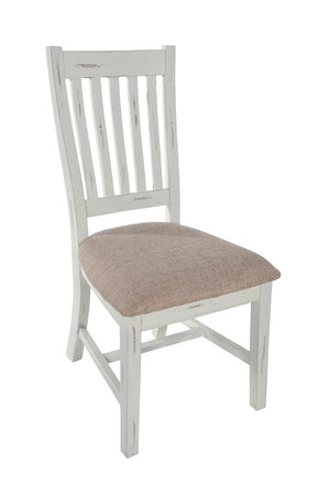 2 Chunky Country Dining Chairs