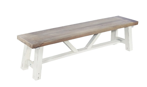 Chunky country bench