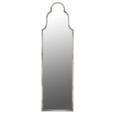 Long antiqued mirror