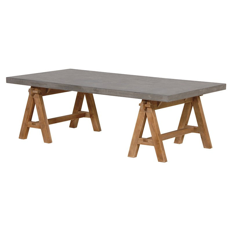 Coffee Trestle Table
