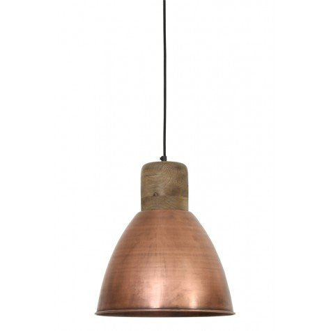 Antique Copper and Kitchen Lamp