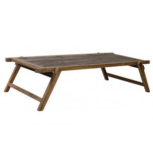 Military style folding coffee table