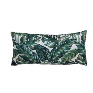long botanical cushion